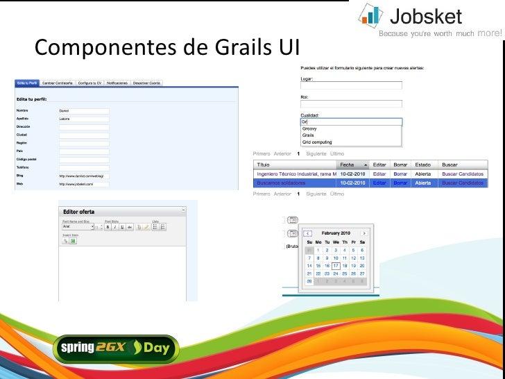 Componentes de Grails UI     2/21/10