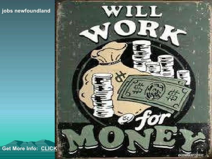 jobs newfoundland Get More Info:  CLICK