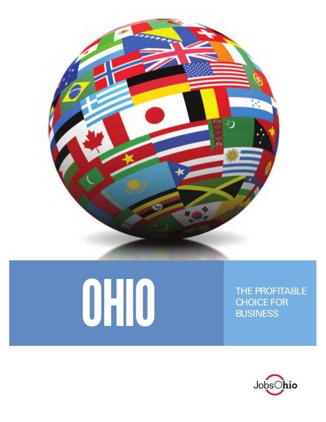 OHIO  THE PROFITABLE CHOICE FOR BUSINESS