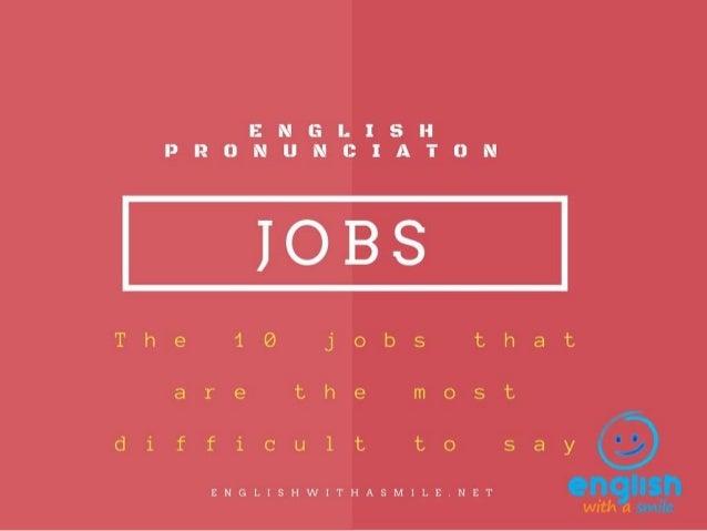 Jobs pronunciation