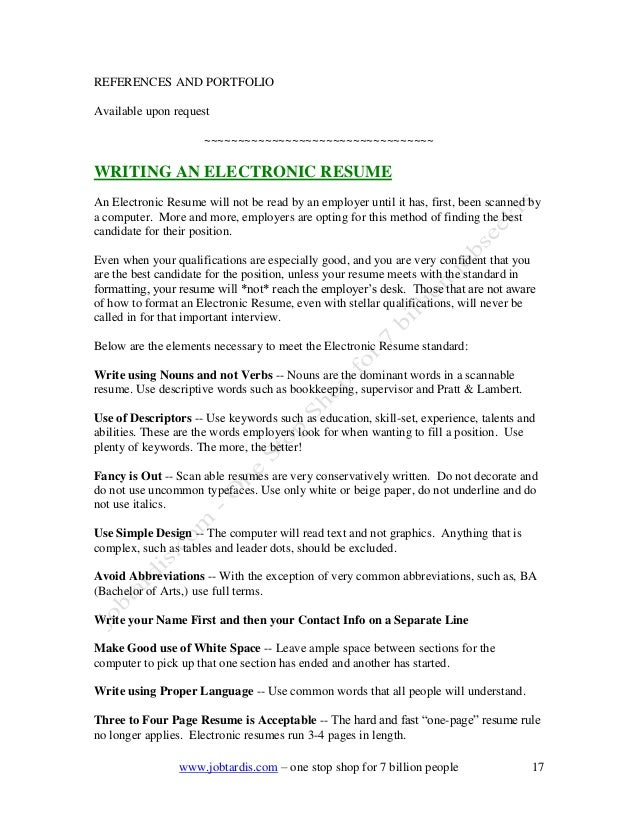 resume one page rule - How To Make Resume One Page