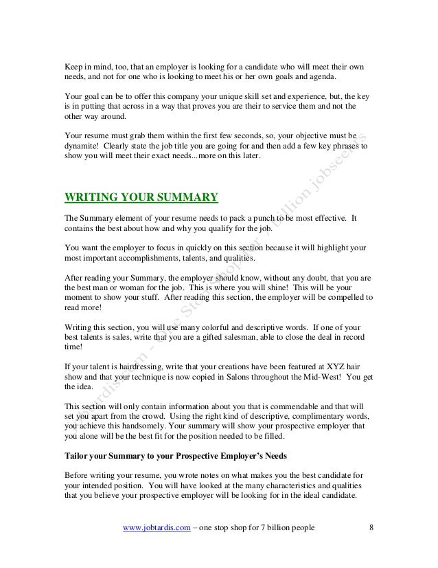 Jobtardis ebooks resumes and cover letter by kumar vuppala jobtardis …