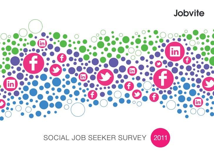 Social Job Seeker Survey   2011
