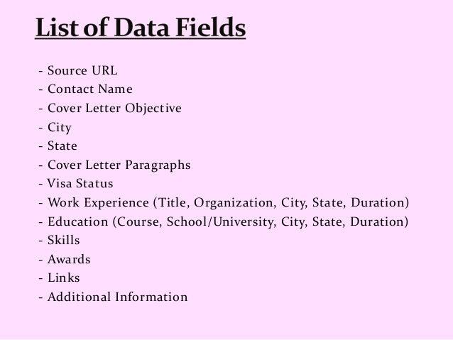job websites scraping  u2013 resume scraping services