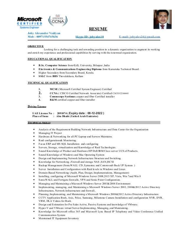 Joby Resume