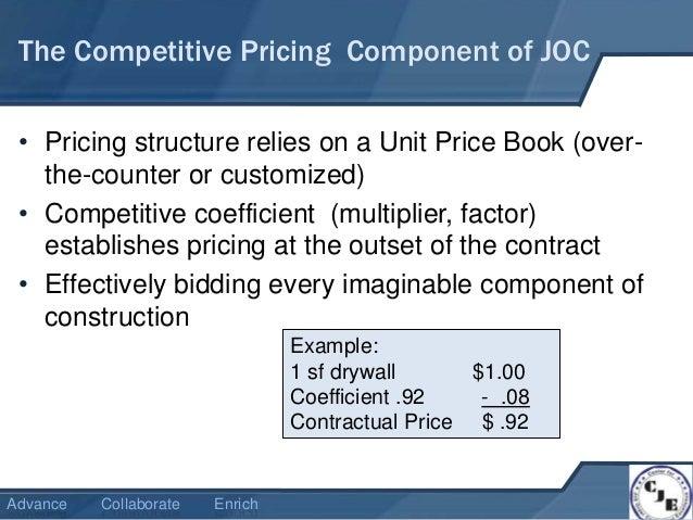 job order contracting 101