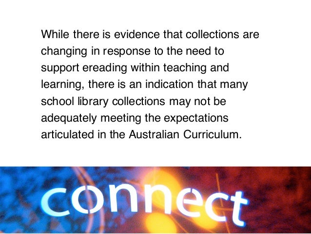 While there is evidence that collections are changing in response to the need to support ereading within teaching and lear...