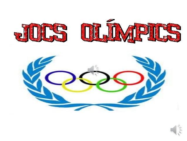 Els primErs jocs olímpics Es disputarEn a l'any:
