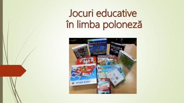 Jocuri educative în limba poloneză