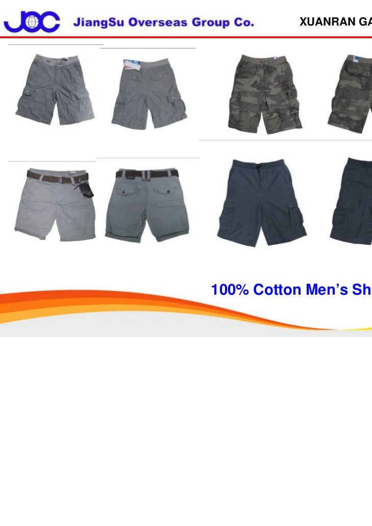 XUANRAN GARMENT100% Cotton Men's Short Pant