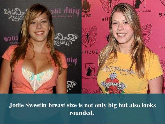 Jodie Sweetin Tit Size