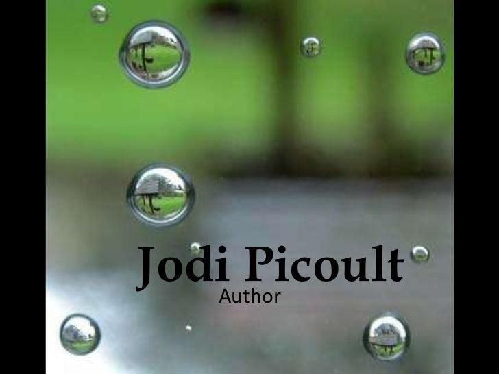 Jodi Picoult   Author