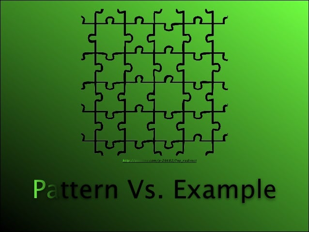 http://pixabay.com/p-26482/?no_redirect  Pattern Vs. Example