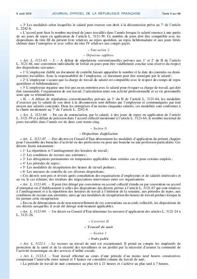 code du travail l3141-8