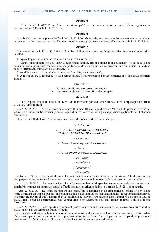 code du travail 3123-6