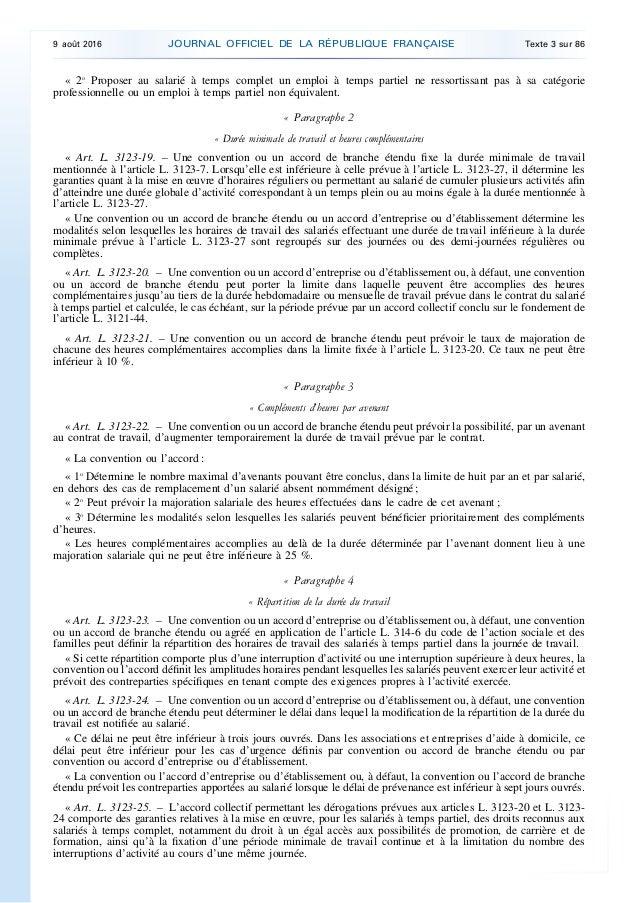 code du travail 3121-22