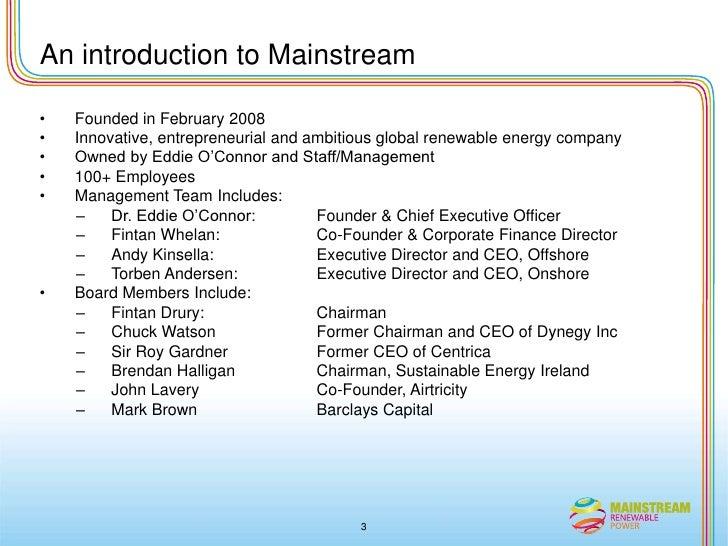 Joe corbett presentation Slide 3