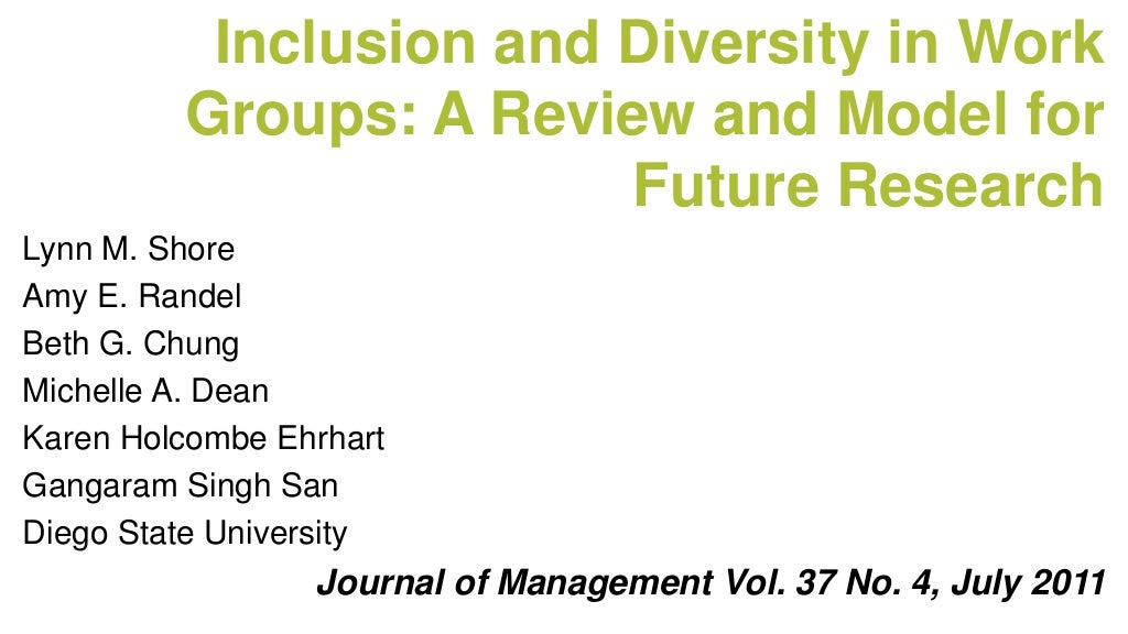 work in diversity Crosby burns, kimberly barton, and sophia kerby examine the state and strength of diversity in the us workforce, specifically the number and proportion of people of color, women, gay and.