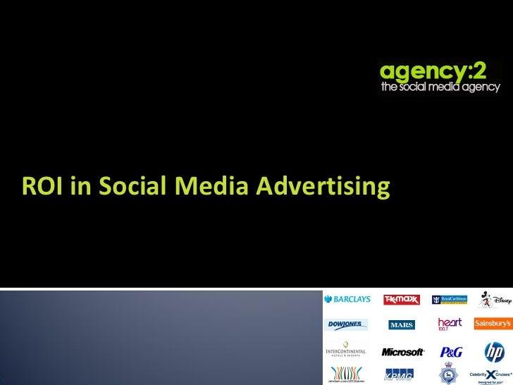 ROI in Social Media Advertising