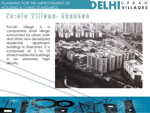Urban Villages of Delhi: Case study Kotla Mubarakpur