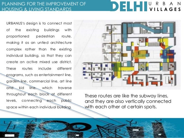 Urban Villages of Delhi: Case study Kotla Mubarakpur