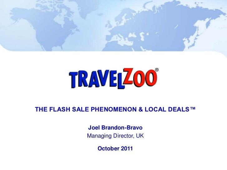 Joel Brandon Bravo Travelzoo
