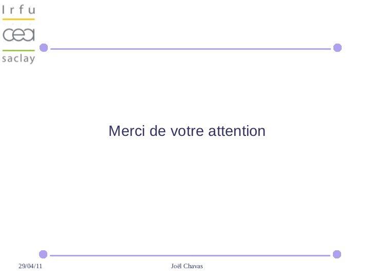 Merci de votre attention29/04/11            Joël Chavas