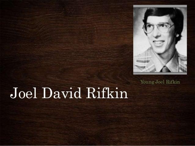 Joel David Rifkin  Young Joel Rifkin