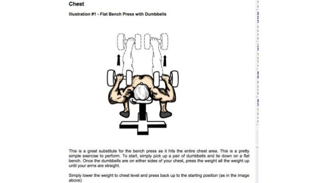 Joe liotine's lifetime chest exercises