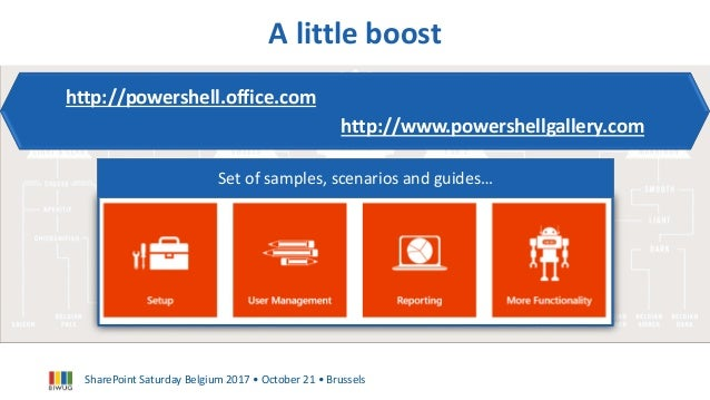Use PowerShell superpower to tame your Office 365