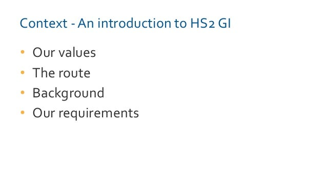 AGS Members' Day 2015 - HS2 Presentation Slide 3