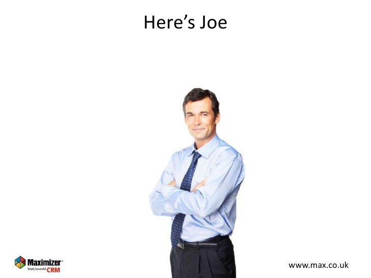 Joe's CRM Slide 3