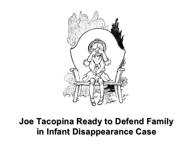 Joe Tacopina Ready to Defend FamilyJoe Tacopina Ready to Defend Family in Infant Disappearance Casein Infant Disappearance...
