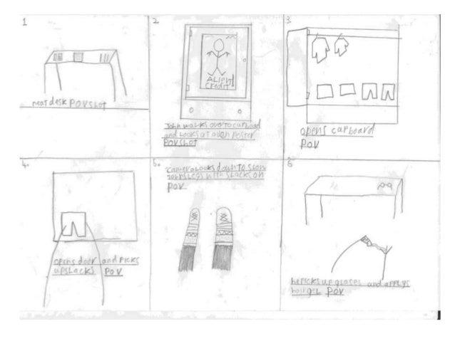 Joey story board powerpoint