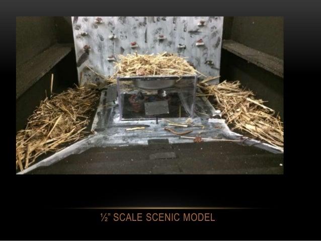 """½"""" SCALE SCENIC MODEL"""