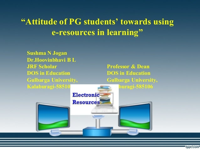 attitude towards e-learning thesis Take-up and use of e-learning in developing countries is at a preliminary stage  this thesis deals with e-learning in the context of a developing country   concepts such as views, attitudes and opinions shall be understood exclusively  as part.