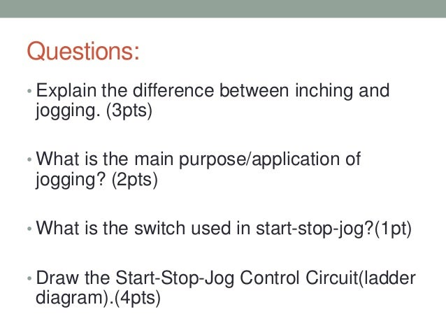 jogging operation for dc and ac motors start stop station wiring diagram forward reverse start stop jog diagram #30