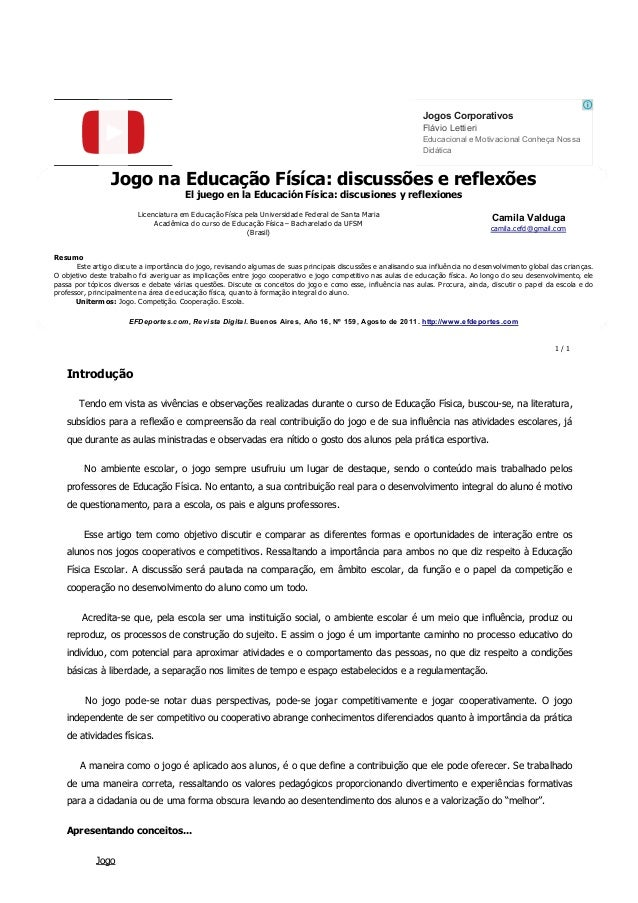 JogosCorporativos EducacionaleMotivacionalConheçaNossa Didática FlávioLettieri JogonaEducaçãoFísíca:discussõese...