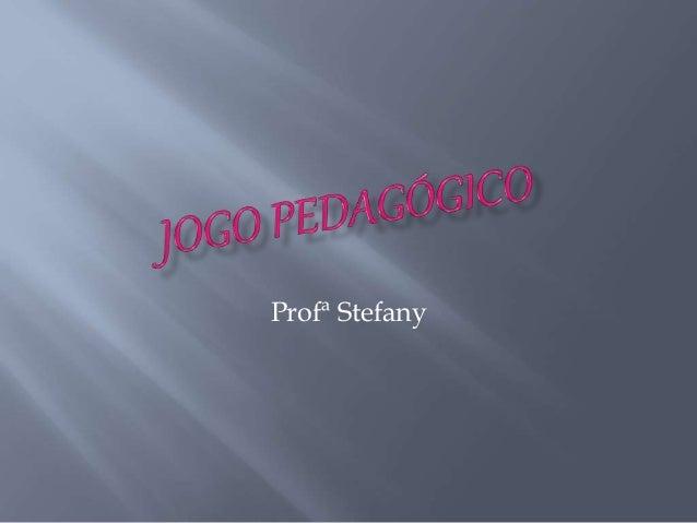 Profª Stefany