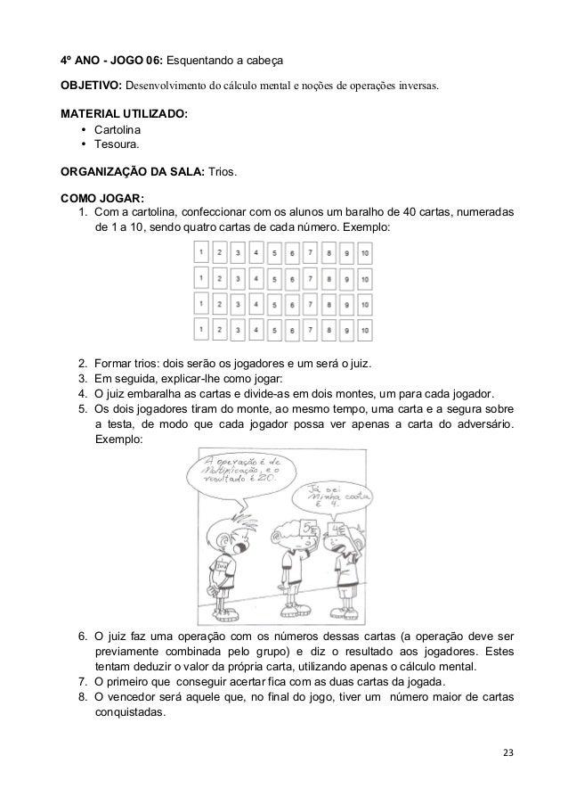 Top JOGOS MATEMÁTICOS 3º 4º 5º ANO PAIC + VOLUME I(PROFESSOR) VH07