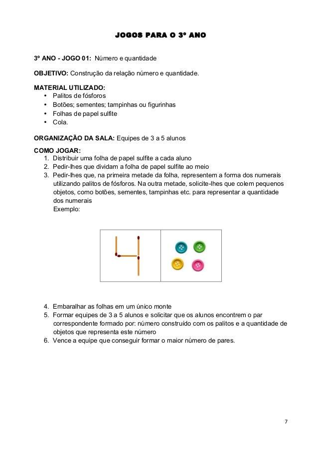 Favoritos JOGOS MATEMÁTICOS 3º 4º 5º ANO PAIC + VOLUME I(PROFESSOR) VS95