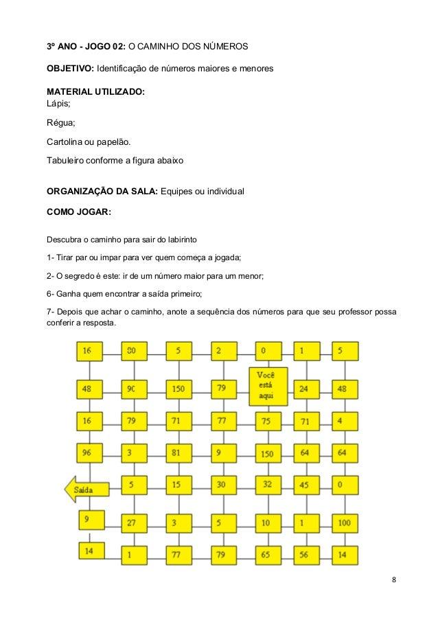 Famosos JOGOS MATEMÁTICOS 3º 4º 5º ANO PAIC + VOLUME I(PROFESSOR) QC17