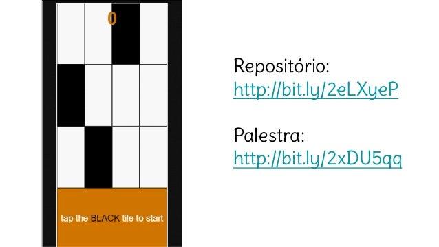Repositório: http://bit.ly/2eLXyeP Palestra: http://bit.ly/2xDU5qq