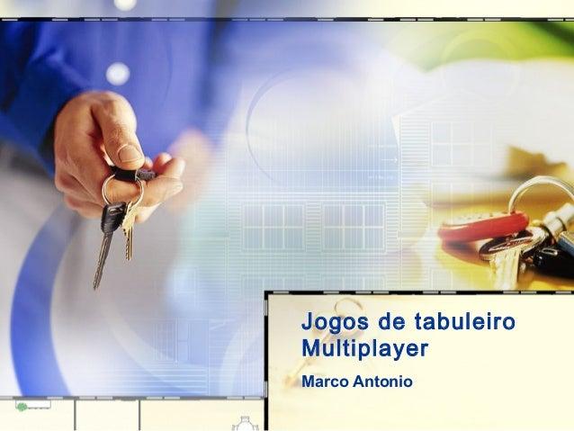 Jogos de tabuleiro Multiplayer Marco Antonio