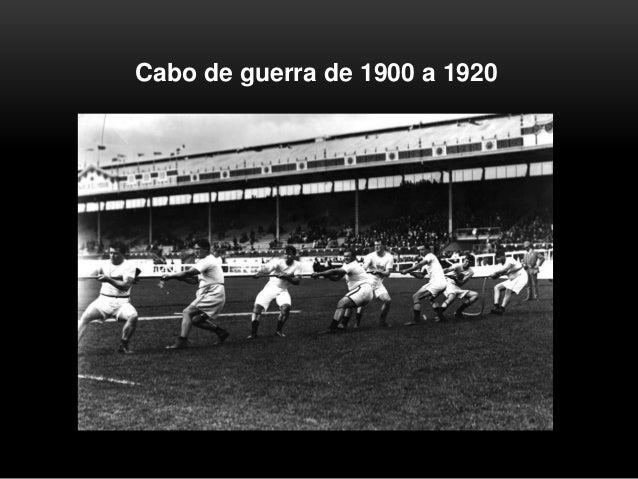 Cabo de guerra de 1900 a 1920
