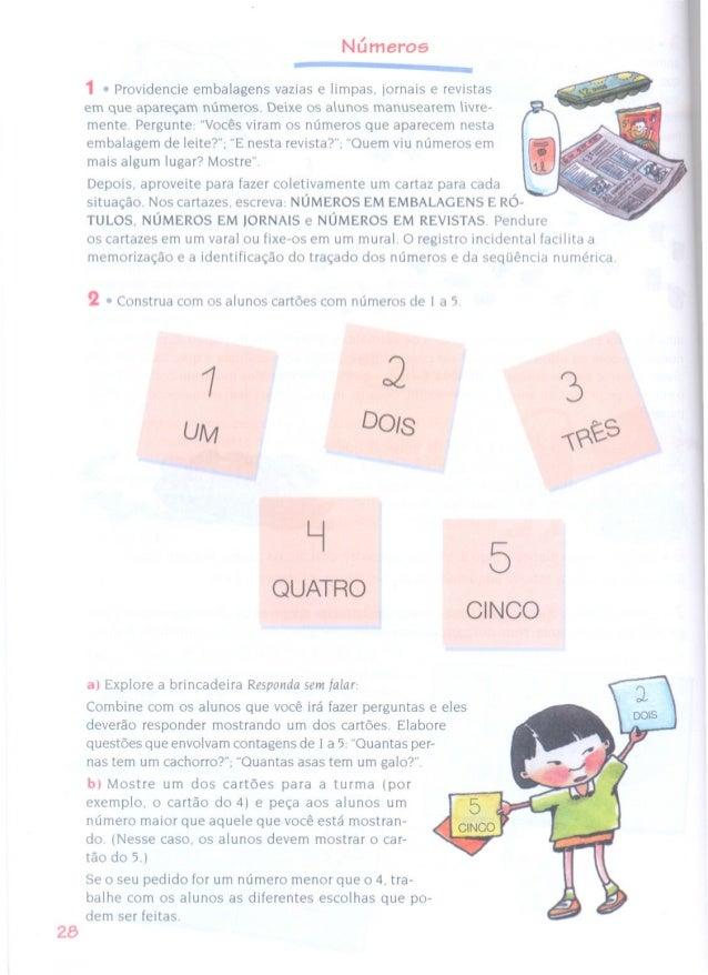 28  Números    1 0 Providencie embalagens vazias e limpas,  iornais e revistas em que apareçam números.  Deixe Os alunos m...