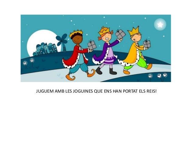 Álbum de fotografías JUGUEM AMB LES JOGUINES QUE ENS HAN PORTAT ELS REIS!