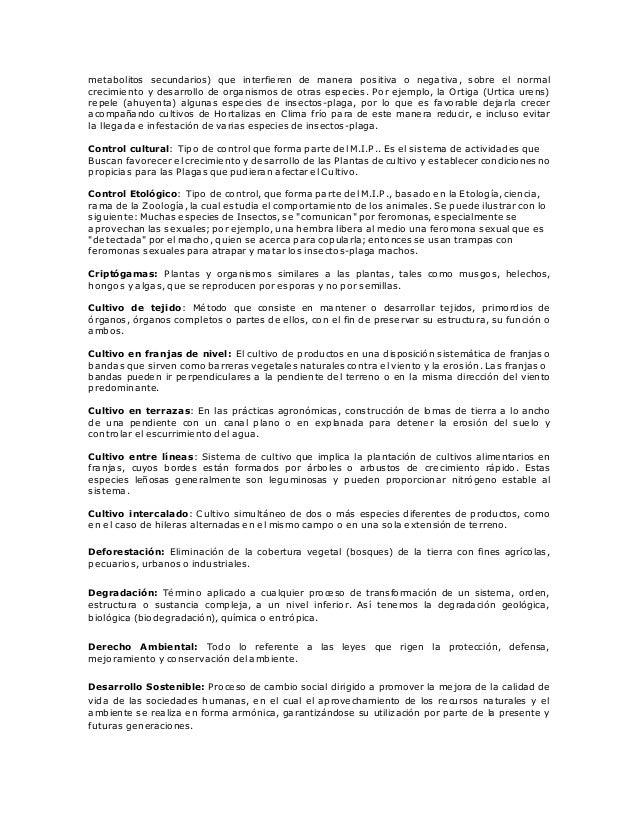Joguitopar glosario agricola for Alelopatia en hortalizas