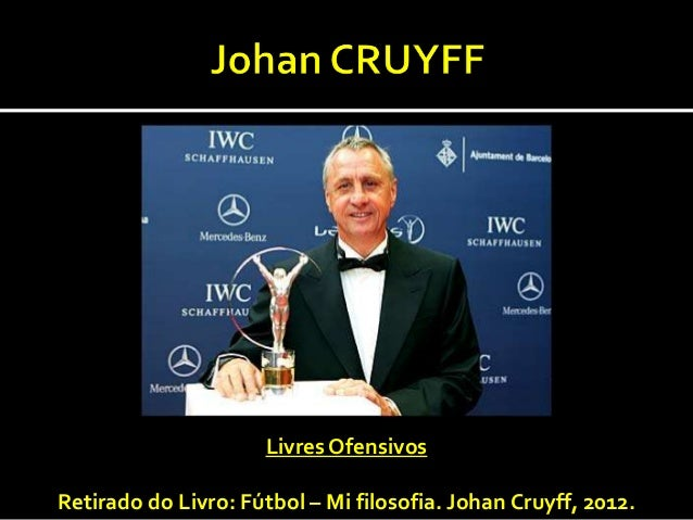 Livres OfensivosRetirado do Livro: Fútbol – Mi filosofia. Johan Cruyff, 2012.