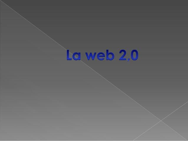   la web 2,0 esta asociado a aplicaciones que facilitan   el compartir de la información , la web 2,0 permite a   los ...